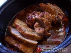 An easy and delicious recipe that makes pork delight - Trikalaola. Greek Recipes, Pork Recipes, Snack Recipes, Cooking Recipes, Gif Recipes, Snacks, Cyprus Food, Kai, Low Sodium Recipes
