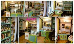 Bio shop remodeling by Atelierul Rozz