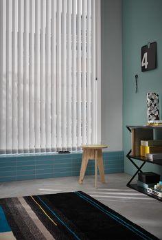 Elegante eenvoud voor grote ramen