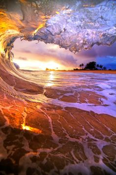 Mother Nature is Clearly Good with Water Colours