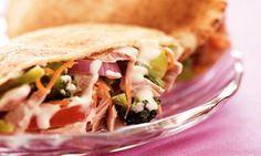 Sanduíche de atum     http://ummundodereceitas.blogspot.com.br/2013/01/sanduichede-atum-com-legumes.html