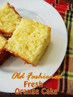 Old Fashioned Fresh Orange Cake! Congrats on your milestone, I brought, Fresh Orange Cake...from scratch!!! Have a lovely day ... From : Cooking is Easy