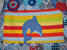 detalhe da bolsa golfinho
