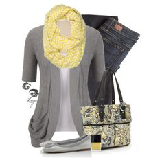 Yellow and Gray for Spring! by lagu