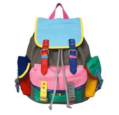 The crew behind Lazy Oaf have been getting busy recently with their accessories and the latest items to bubble to the surface are some school boy style backpacks.
