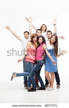 stock-photo-group-of-fun-friends-posing-with-hands-in-the-air-80777371.jpg (300×470)