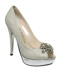 E! Live From the Red Carpet Shoes, E0039 Platform Evening Pumps - Evening & Bridal - Shoes - Macy's