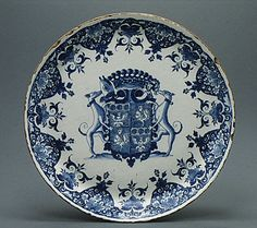 *1700-1720 French Plate at the Metropolitan Museum of Art, New York