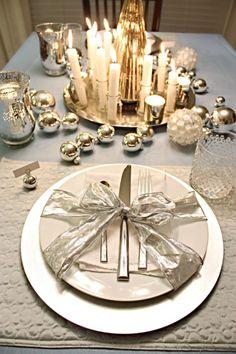 De kersttafel dekken   Éénig Wonen