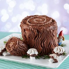 You'll be the talk of the town when you serve this traditional Christmas cake.