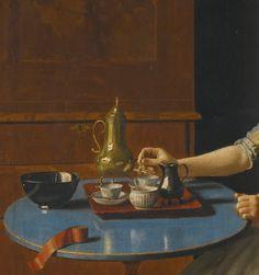 Jean-Etienne Liotard A DUTCH GIRL AT BREAKFAST