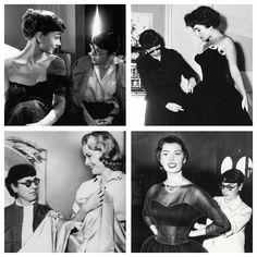 Edith Head, Audrey Hepburn, Grace Kelly, Elizabeth Taylor, Sophia Loren