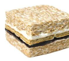 Oh my those s'mores layers of chocolate and graham crackers.  http://thecrispery.com