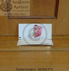 Minna Immonen gift card: lady / Minna Immosen pakettikortti: nainen Frame, Cards, Gifts, Decor, Decorating, Favors, Inredning, Frames, Interior Decorating