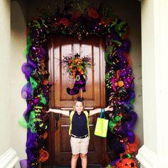 Idea for Halloween door