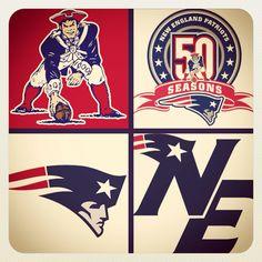 #Patriots-- Still love the Pat Patriot logo the best!