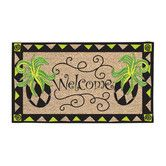 Found it at Wayfair - Whimsy Pineapple Doormat