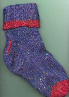 Free Knitting Pattern For Easy Beginner Socks