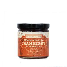 Your cranberry sauce this year doesn't have to come from a can. Blood Orange Cranberry Raspberry Spread | B. non-traditional | B. 1802