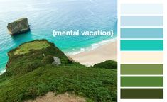 10 Fresh Color Palettes for Massage Treatment Rooms | #Oceanside | #massageroomideas