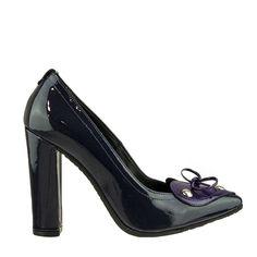 W16-W-4452 - Μώβ Peeps, Peep Toe, Shoes, Fashion, Shoes Outlet, Fashion Styles, Shoe, Footwear, Fashion Illustrations