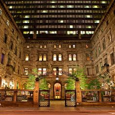 Can't wait to spend Christmas here :)  The New York Palace—Manhattan, New York. #Jetsetter