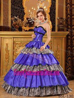 Charming Sweetheart Floor-length Taffeta Purple Dress for Quinceanera
