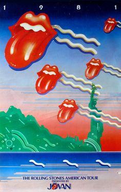 The Rolling Stones American Tour Art Deco