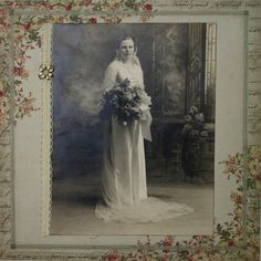 Wedding Photo - gourgeous, feminine and soft colors highlight a special photo