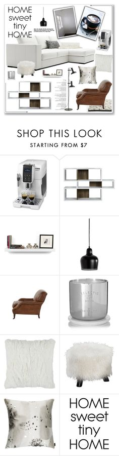 """Winter Home Decor"" by yukotange ❤ liked on Polyvore featuring interior, interiors, interior design, home, home decor, interior decorating, DeLonghi, TemaHome, Artek and Jayson Home"