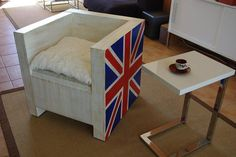 Cardboard armchair by Cartão Concept