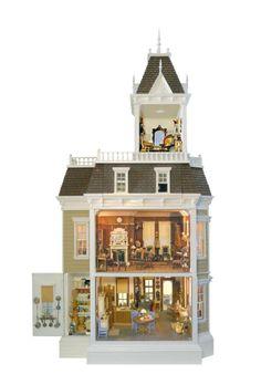 Victorian Dollhouses | visit pinterest com