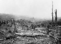 The village of Beaumont Hamel after its capture during the Battle of the Somme