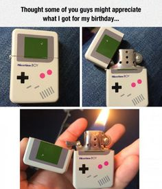 Game boy lighter