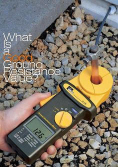 Tech Discover What Is a Good Ground Resistance Value? Electrical Wiring Colours, Home Electrical Wiring, Electrical Plan, Electrical Projects, Electrical Installation, Electrical Engineering, Electronic Engineering, Electrician Wiring, Electrical Lineman