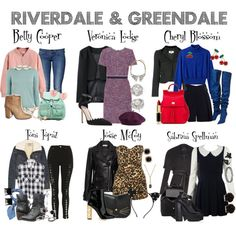 Riverdale Set, Riverdale Merch, Casual School Outfits, Outfits For Teens, Cute Outfits, Fashion Tv, Fashion Outfits, Riverdale Halloween Costumes, Betty Cooper Outfits