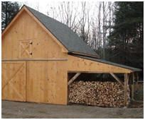1000 images about wood sheds of the world on pinterest for Tractor garage plans