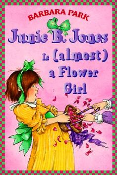 Sahla at Derrydown PS recommends Junie B. Jones is Almost a Flower Girl by Barbara Park:  This book is funny.  The part that is funny is when she tries to be all grown up.  You can also learn something: try to act your age, not older than you are.