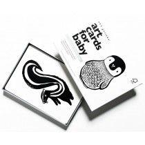 Wee gallery art cards zwart-wit dieren