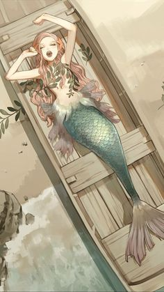 Ideas For Drawing Mermaid Anime Art Disney, Disney Kunst, Fantasy Kunst, Fantasy Art, Anime Kunst, Anime Art, Character Inspiration, Character Art, Character Sketches