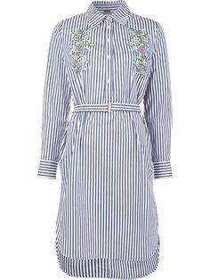 ADAM LIPPES embroidered long sleeve dress. #adamlippes #cloth #dress