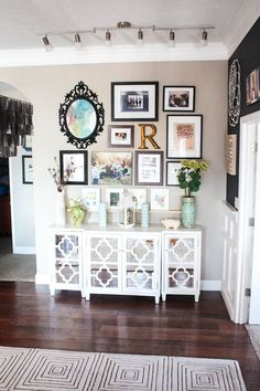 Dining Room Wall Makeover