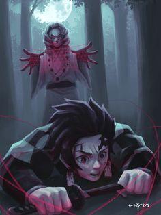 Demon Slayer Ships - Rui X Tanrjiou Manga Anime, Fanarts Anime, Anime Demon, Otaku Anime, Anime Naruto, Anime Characters, Era Taisho, Estilo Anime, Dragon Slayer
