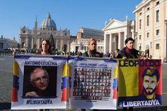 Ancora sotto il Vaticano le tre donne del Venezuela che chiedono la liberazione dei prigionieri politici