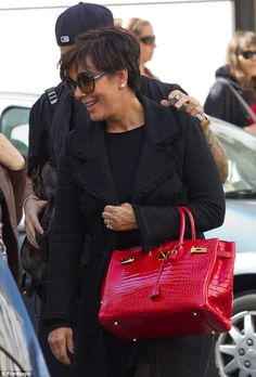 Kris Jenner Chic in Paris - Kris Jenner - Zimbio. Lisa Alam · Birkin Party  and more. b5ce493661