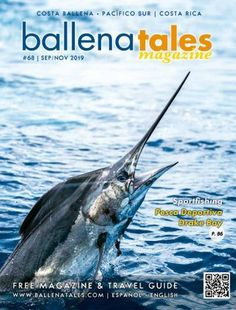 South Pacific Costa Rica Travel Guide and Magazine #68 South Pacific, Pacific Ocean, Costa Rica Travel, Travel Guide, Whale, Cool Pictures, National Parks, Magazine, Whales
