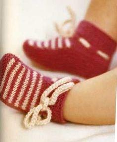Вязание спицами носков для маленьких <i>носки</i> детей: схема и подробное описание работы