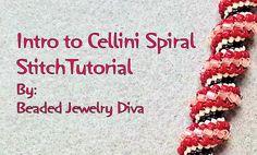 Intro to the Cellini Spiral Stitch - Cellini Spiral Tutorial