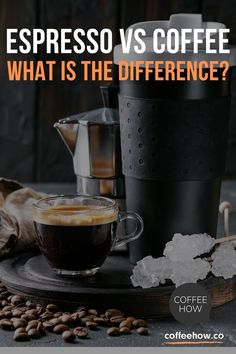 Coffee and Espresso - what is the difference? The bottom line, it is all coffee! The real difference is how you brew it. Here is a simple guide on Coffee and Espresso.#coffeevsespresso Espresso Shot, Espresso Coffee, Coffee Type, I Love Coffee, What Is An Espresso, Coffee Drink Recipes, Coffee Varieties, How To Make Coffee
