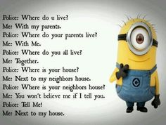 "Here's a great and New collection of Funny and Hilarious Minions for you.Just scroll down and keep reading these ""Top 25 New Minion Memes"". And don't forget to share with your friends for make him laugh. Humor Minion, Funny Minion Memes, Minions Quotes, Funny Texts, Minion Sayings, Some Funny Jokes, Funny Jokes To Tell, Hilarious Jokes, Cartoon Memes"